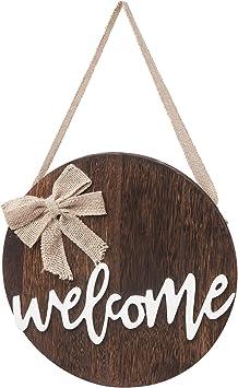 Amazon.com: Dahey - Cartel de madera para colgar en la ...