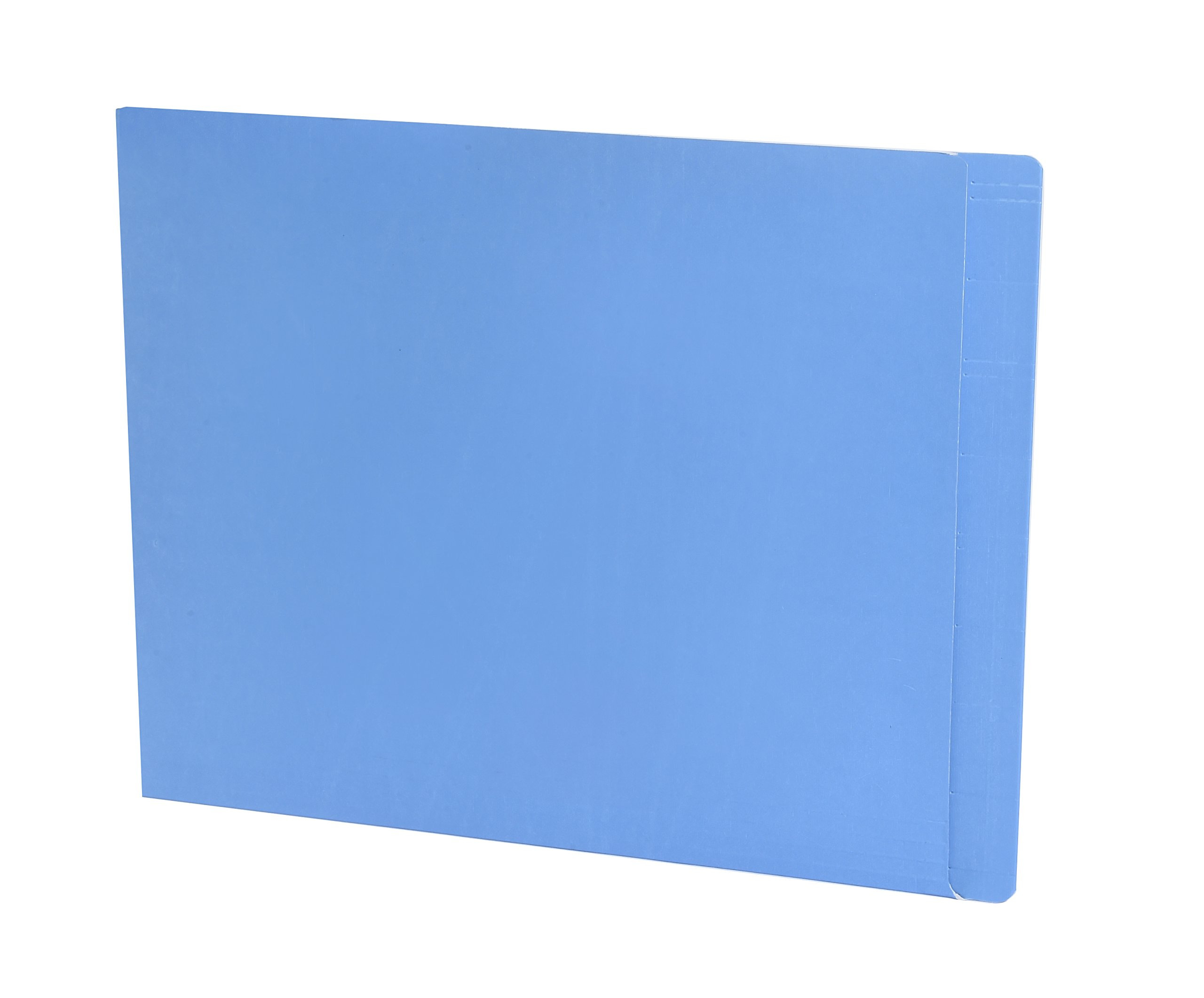 TAB FORTIfile Folder, Azure Blue, 13.5 pt., Doubly Ply End Tab, Letter, 75 per Pack