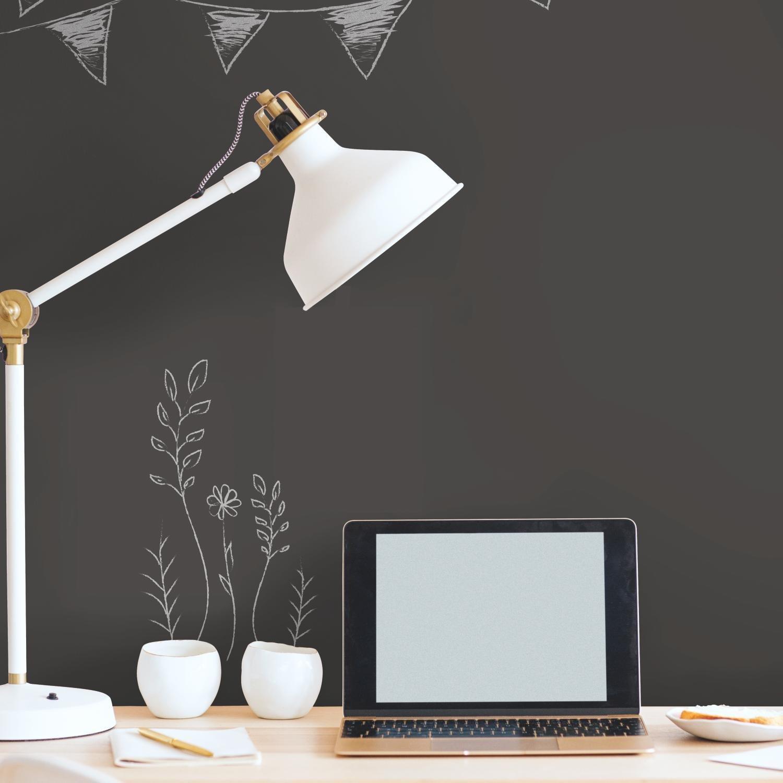 RoomMates Chalkboard Peel and Stick Wallpaper
