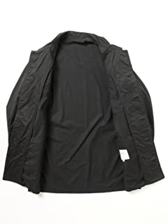 Twill Fatigue Shirt Blouson 51-18-0209-012: Black