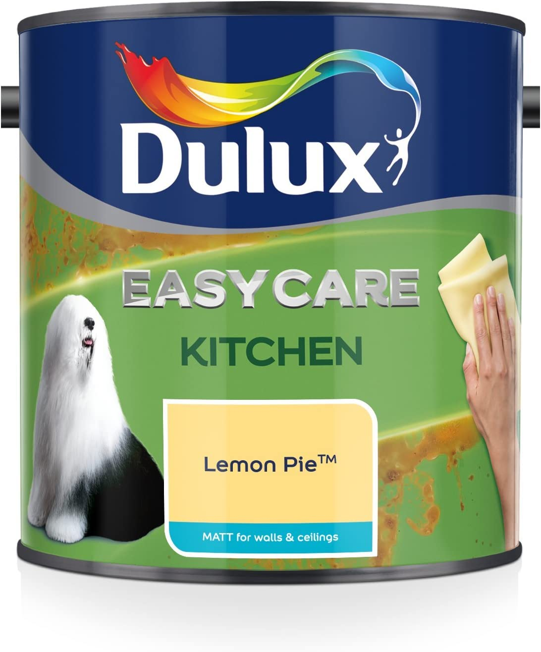 9 inch  Easycare Washable and Tough Matt Egyptian Cotton Dulux Perfect Roller and Tray Set