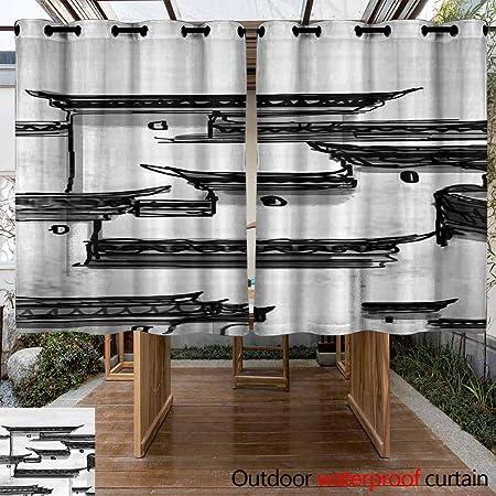 VIVIDX Cortina de Patio con Aislamiento térmico y Aspecto Ultra Grueso y Duradero, con Ojales Impermeables para decoración de Puertas correderas para recámara,: Amazon.es: Jardín
