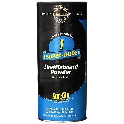 Sun-Glo Speed 1 (Super Glide Wax) Shuffleboard Table Powder, 16 oz. Can : Billiards Equipment : Sports & Outdoors