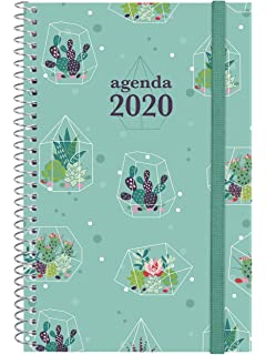 Finocam - Agenda 2020 semana vista apaisada Espiral You ...