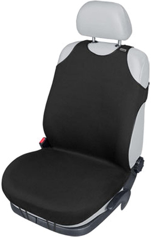 ZentimeX Z739753 Sitzbezug Einzelsitz T-Shirt-Design Baumwolle schwarz