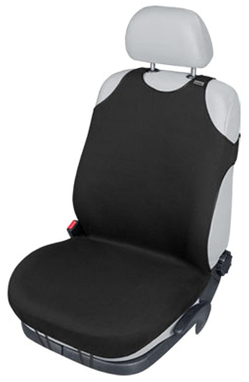 ZentimeX Z739697 Sitzbezug Einzelsitz T-Shirt-Design Baumwolle schwarz