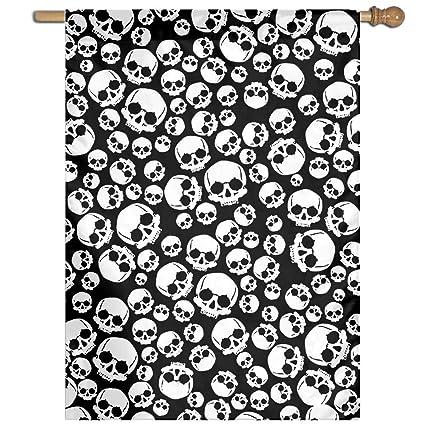 Amazoncom Pattern Pirate Skull Wallpaper 100 Polyester
