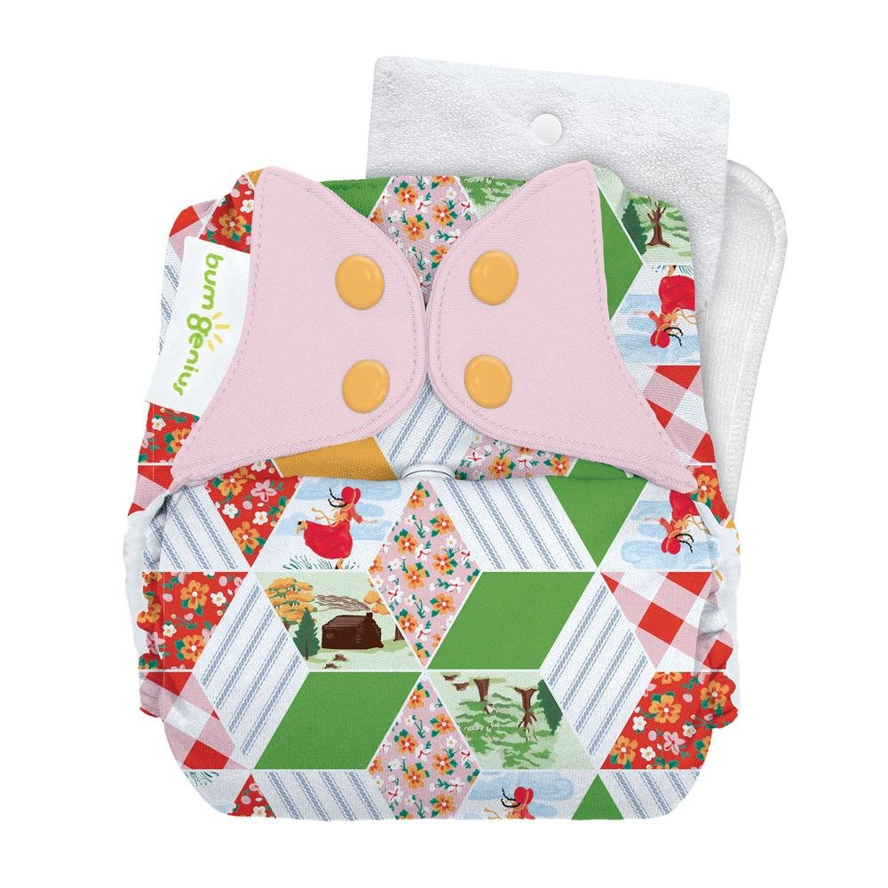 Amazon Bumgenius One Size Snap Cloth Diaper 40 Countess Baby