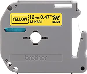 Brother Genuine P-touch M-K631 Label Tape 1/2