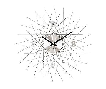 Hervorragend Wanduhr Uhr Modern Style Design Crystal Lines Quarzuhr Quarz Kristalle  NEUHEIT