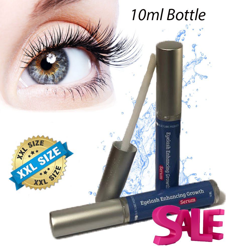 Eyelash Enhancer Growth Serum (10 ml) — High Potency for Longer, Thicker,