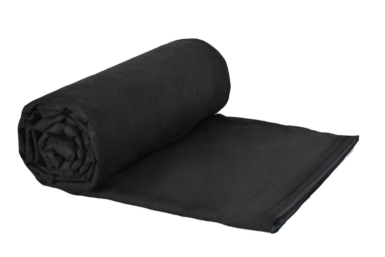 Weighted Blankets Plus LLC ウェイテッドブランケット 重みのつけられた毛布 10 lb ブラック B01MYFIXS0