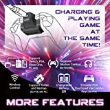 BROOK X ONE Adapter XL 2XBattery Converter for Xbox One Controller Support Switch PS4 Xbox One PC iOS Turbo and Remap-Black