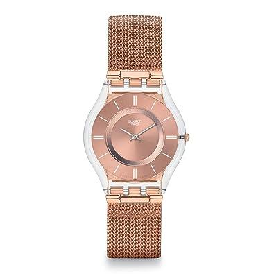 Swatch Reloj Mujer Skin Classic Hello Darling SFP115 M: Amazon.es: Joyería
