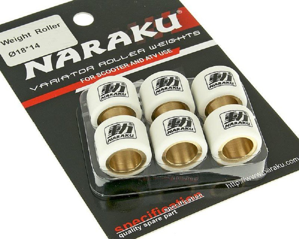 Variomatikgewichte NARAKU HD 18x14mm 10,30g