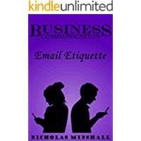 Business Communication - Email Etiquette (English Edition)