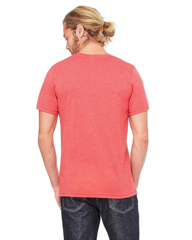Canvas Mens Jersey Short-Sleeve Pocket T-Shirt Bella
