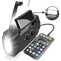 $39 » [2020 New Version] Emergency-Hand-Crank-Radio,4000mAh Portable Weather Solar Radios…