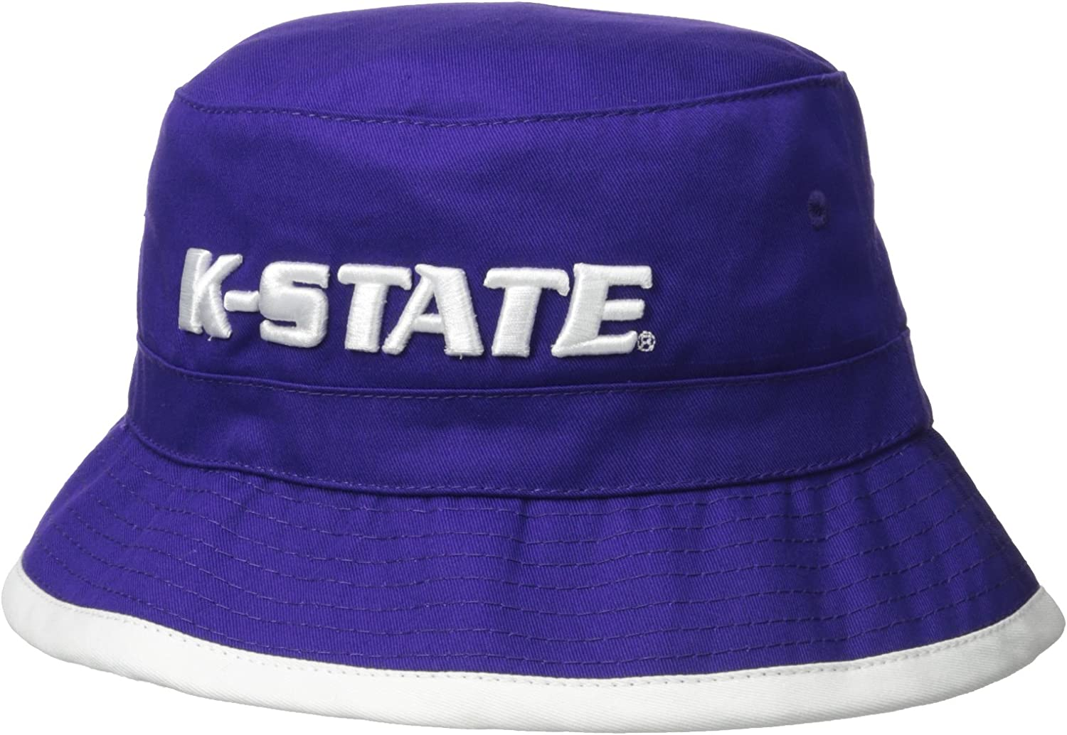 University of Kansas State K-State Wildcats NCAA Bucket Jungle Safari Officially Licensed Fishing Hat