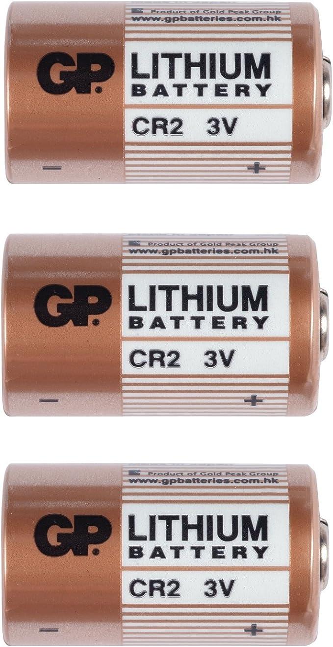 3x Blister Gp Photo Lithium Batterie Cr2 3v Kamera