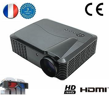 Vídeo Proyector 1080p 4500 lúmenes Full HD 7000:1 cine en casa ...