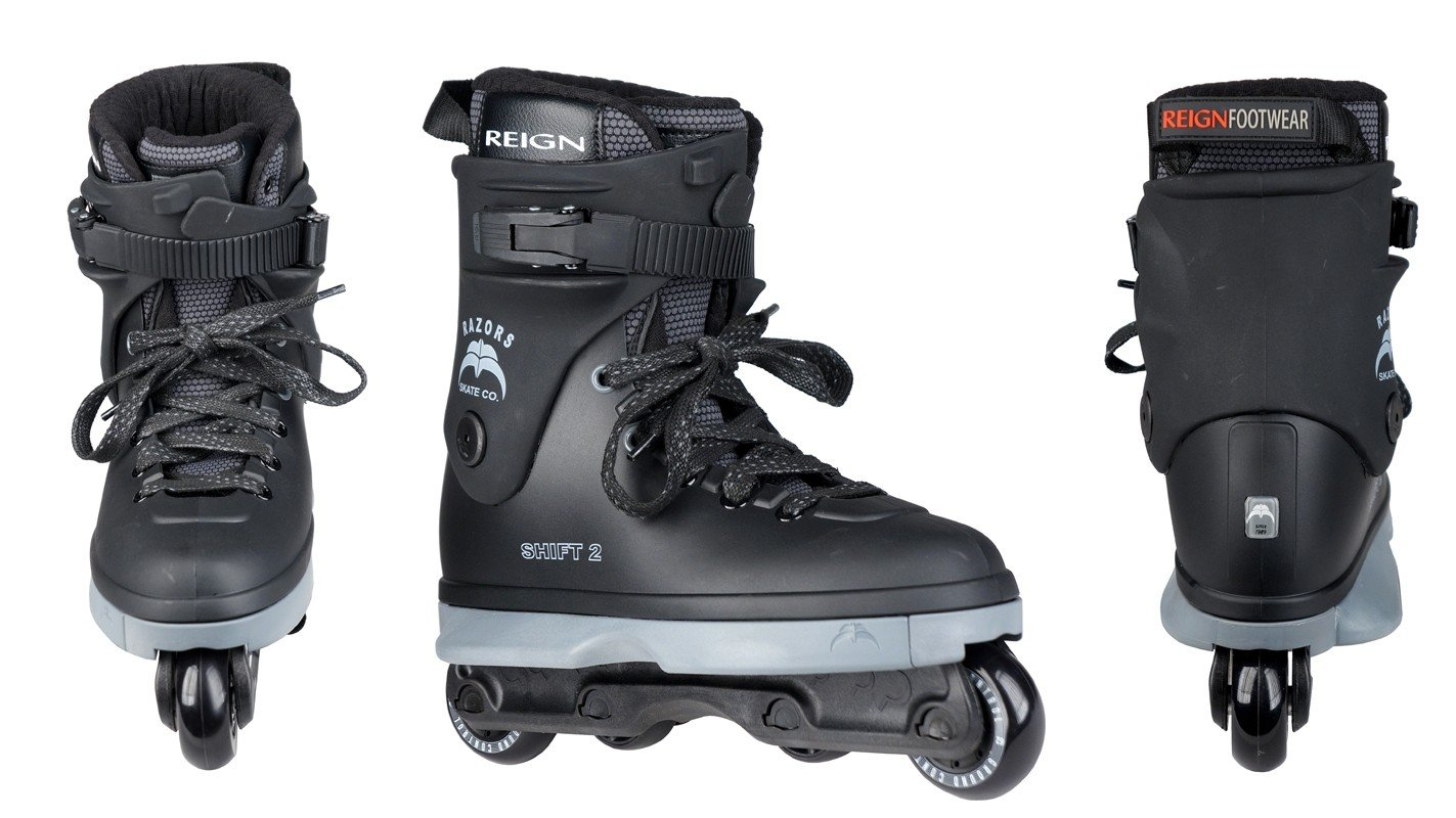 Razors Shift 2 Aggressive Inline Skates Mens 10.5 NEW Inline-Skates