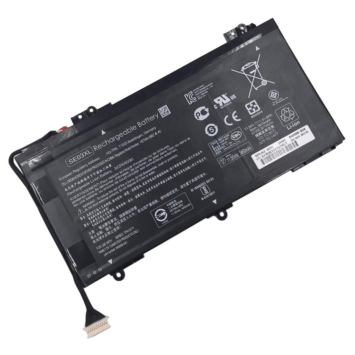 Bateria E-YIIVIIL SE03XL HP Pavilion 14 HSTNN-LB7G HSTNN-UB6