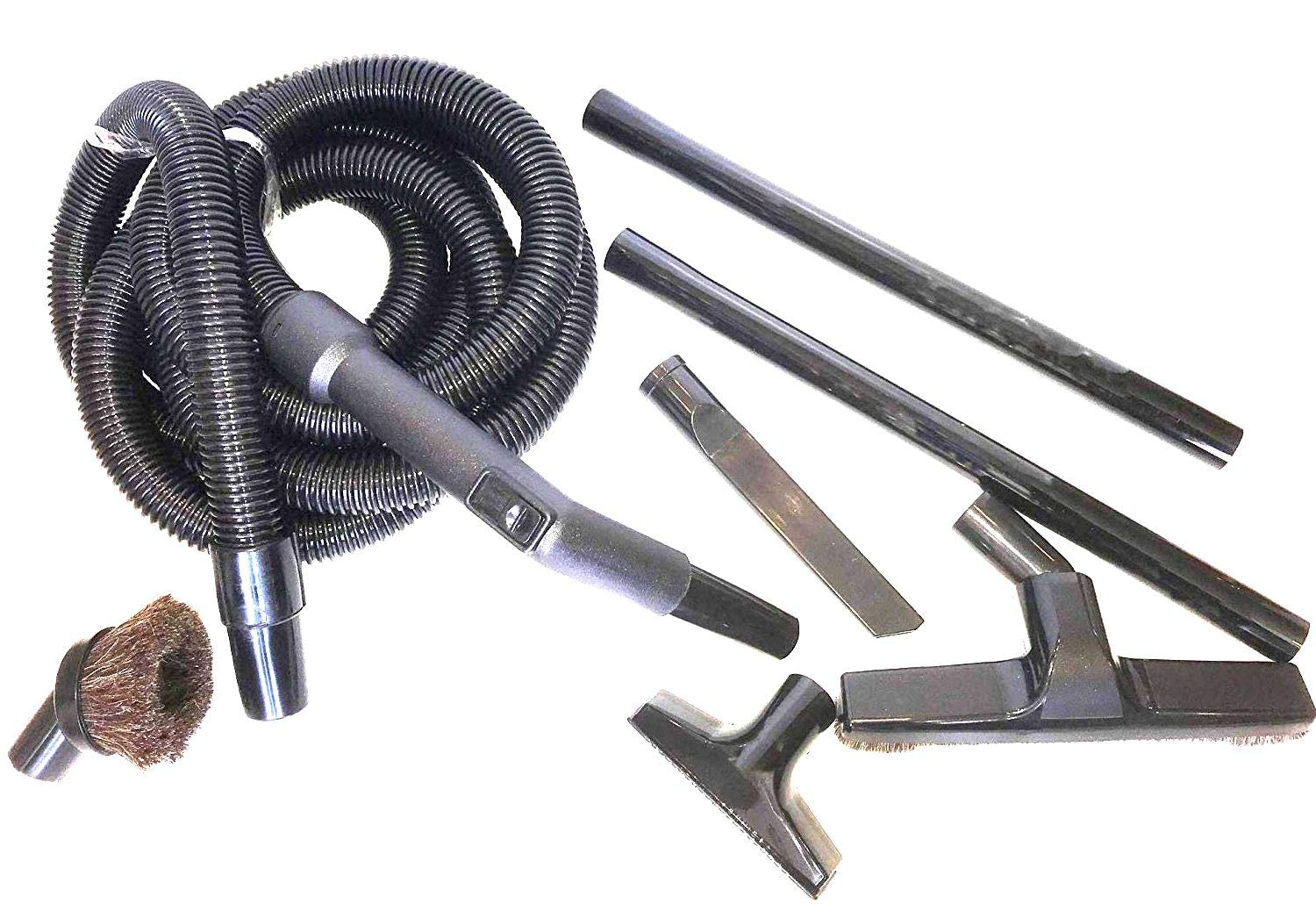 Maresh Products Vacuum Cleaner Attachment Flexible Extension Hose Kit with Tool Accessories for Many Brand Names Including Riccar, Simplicity, Eureka and Some Models of Shark Navigator
