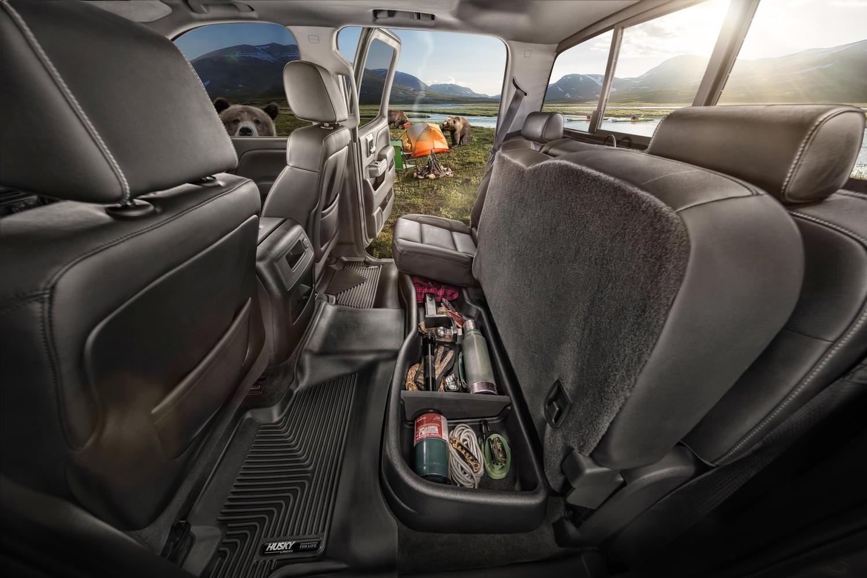 Husky Liners 9411 Black Under Under Seat Storage Box HUSAD