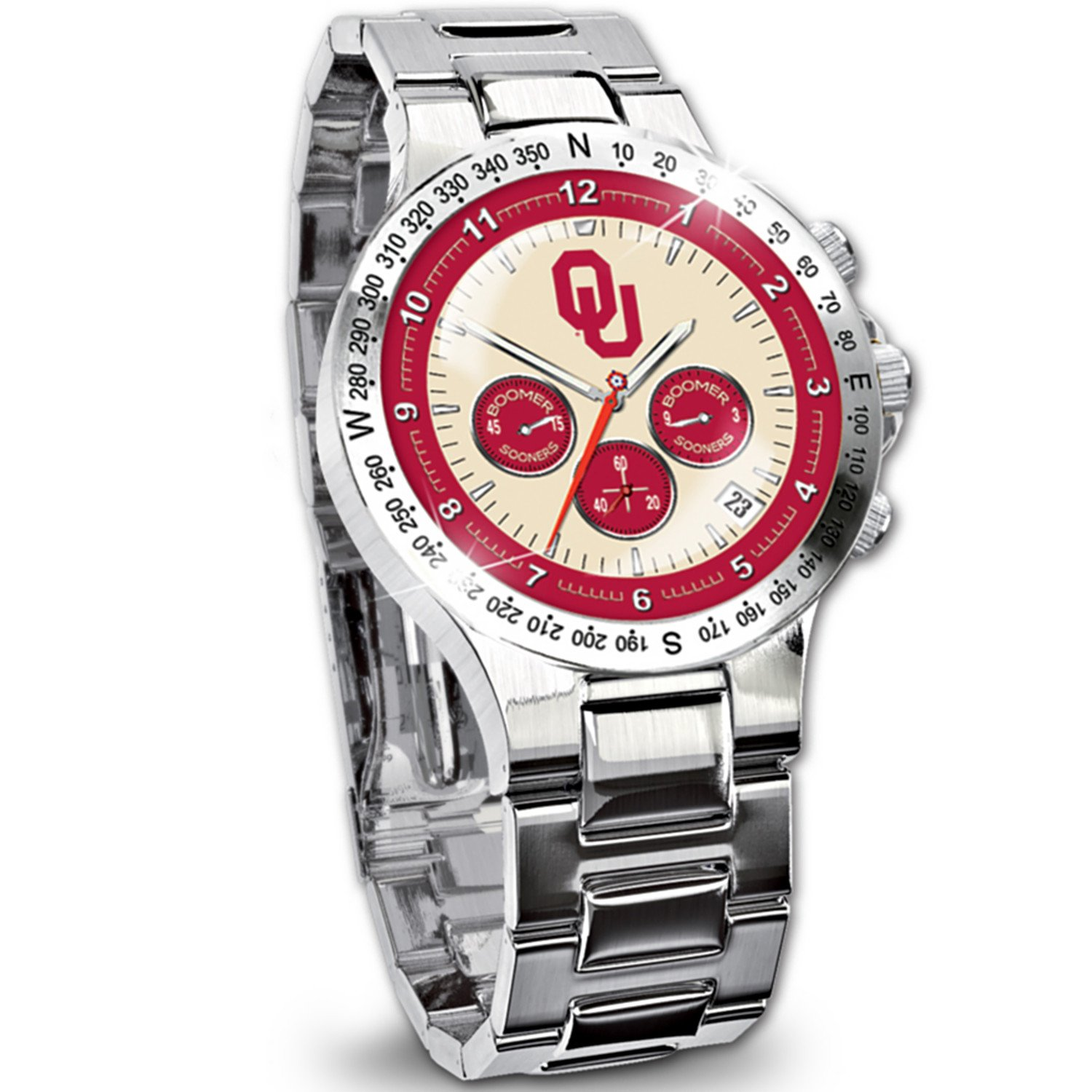 Oklahoma Sooners Collector's Watch by The Bradford Exchange