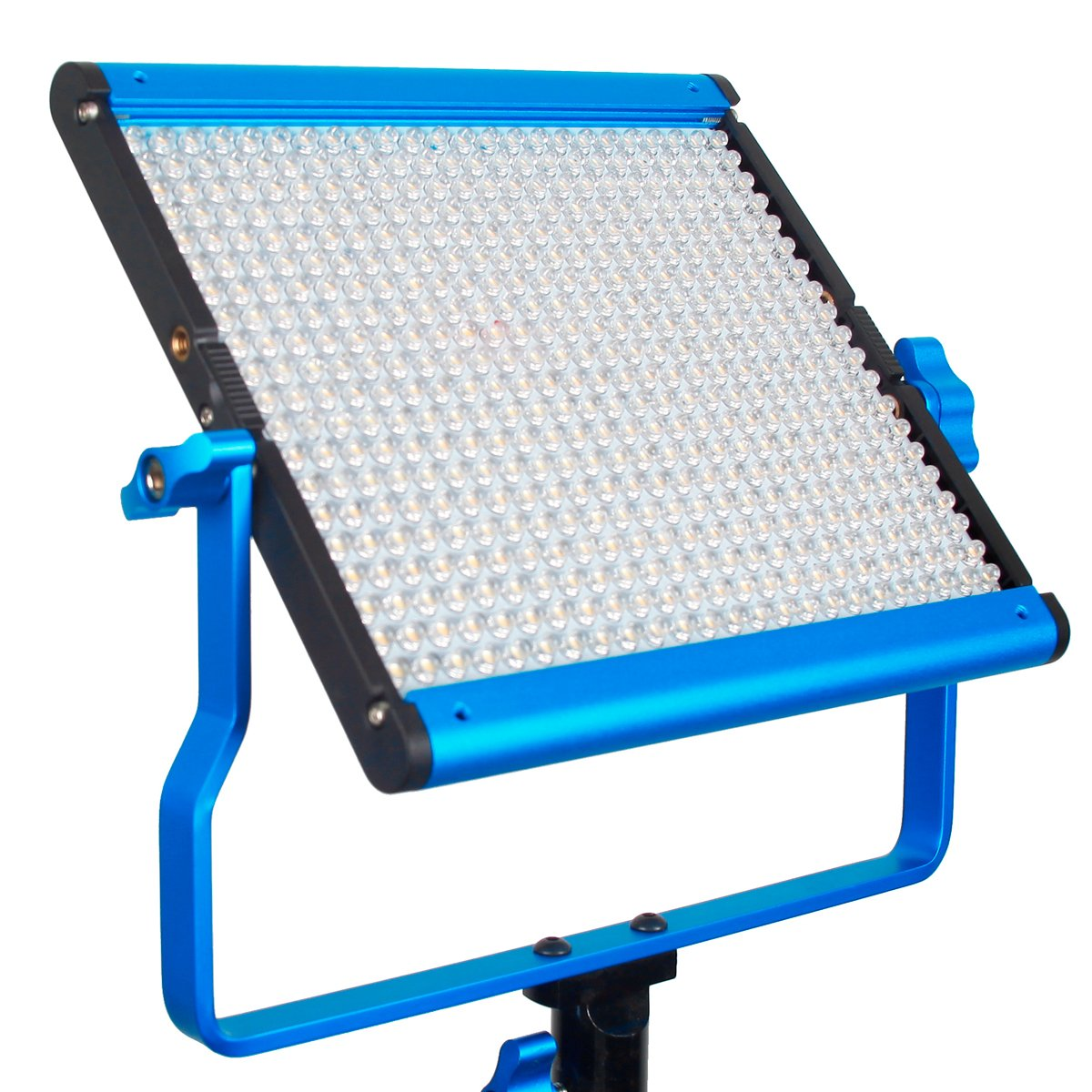 Dracast DRSPPL500DN S Series Plus Daylight LED500 Panel with 2 NPF Battery Plates, Blue