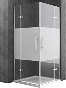 doporro Cabina de ducha de esquina Ravenna30MS 100x140x195cm ...