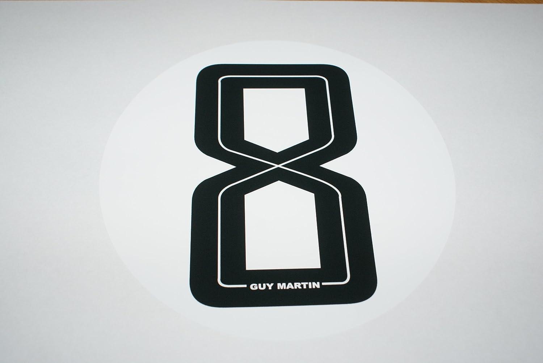 rapro graphique Guy Martin Go Big Or Go Home Sticker