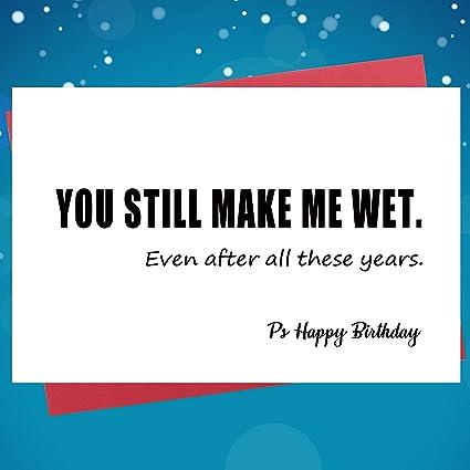 Tarjeta de felicitación de cumpleaños para novio, marido ...