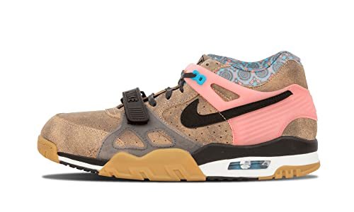 100% authentic 31f12 25c76 Nike Air Trainer 3 PRM QS Mens Cross Training Shoes 709989-201 Vachetta Tan  Black