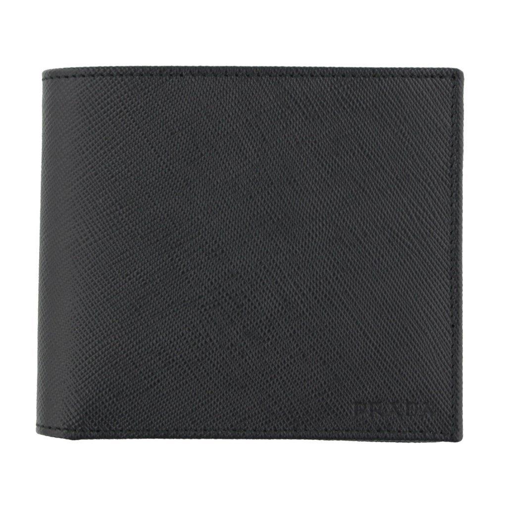 プラダ 二つ折り財布 2MO738 SAFFIANO NERO [並行輸入品] B01N3P72TF