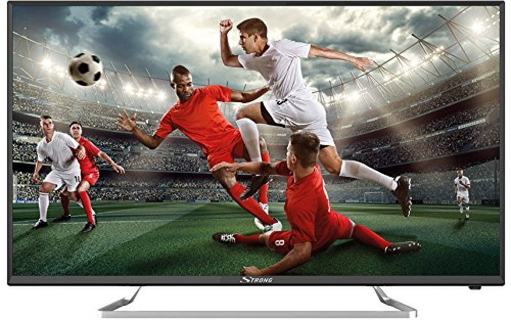 STRONG SRT 40FZ4003 N 101cm (40 Zoll) LED Fernseher (Full HD, Triple Tuner, Satellitenempfang DVB-S2, Kabelempfang DVB-C, Antennenempfang DVB-T2)