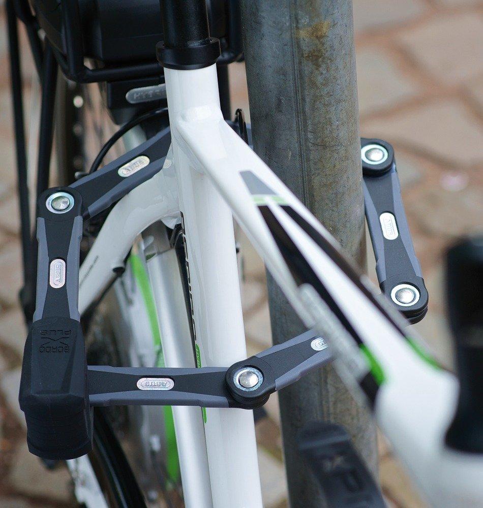 black Bike lock Security level 15 Folding lock Abus Bordo GRANIT X Plus 6500//85cm 33.46 in