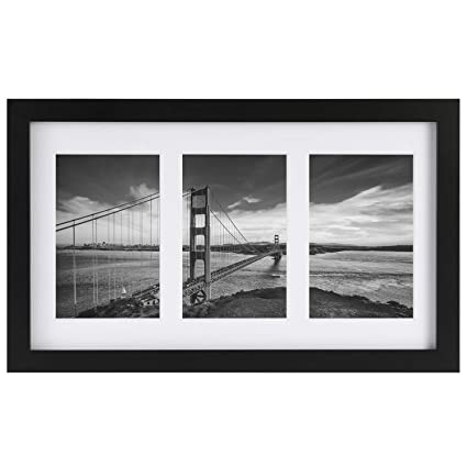 Amazoncom One Wall Tempered Glass 4x6 Collage Picture Frame 3
