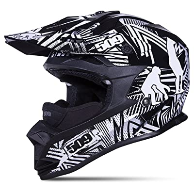 509 Altitude Evolution Snowmobile Helmet Open Face - Lightweight - Camera Mount (2X-Large)