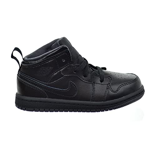 huge selection of 899cf 139c1 Amazon.com   Jordan 1 Mid BT Toddler's Shoes Black/Dark Grey ...