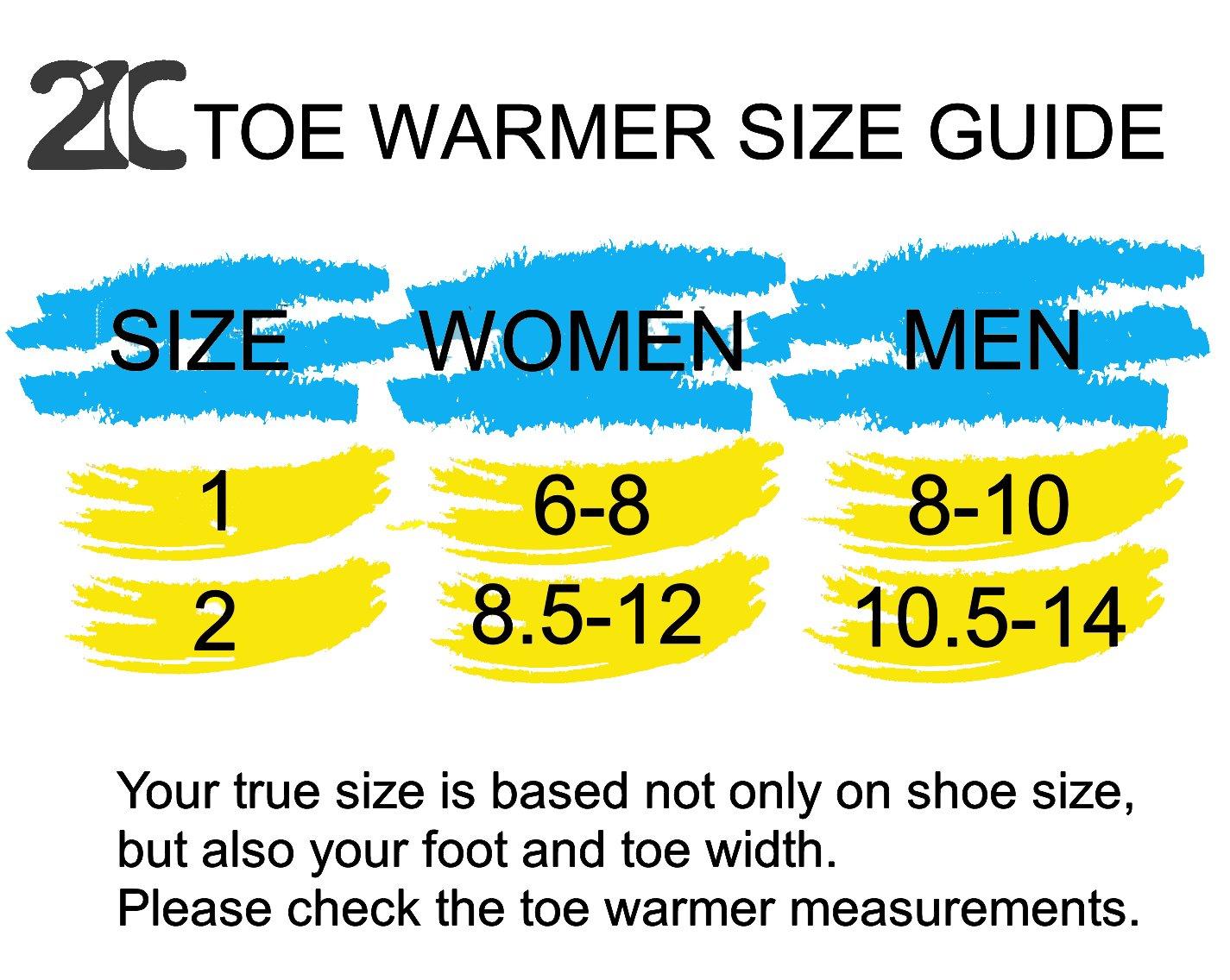 Amazon.com: Calcetines de neopreno para dedos de pies, 21 C ...