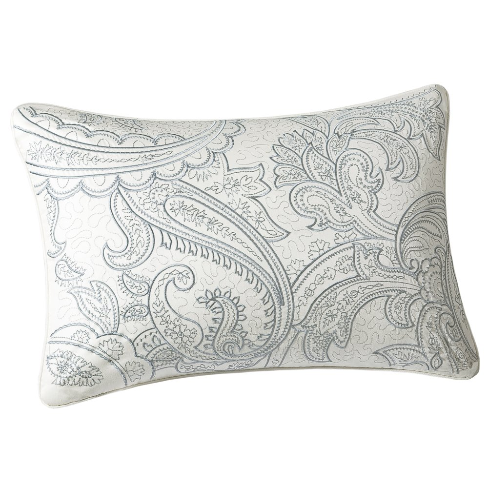 Harbor House Chelsea Paisley 12-by-18-Inch Oblong Decorative Pillow Harbor House Bedding HH30-255