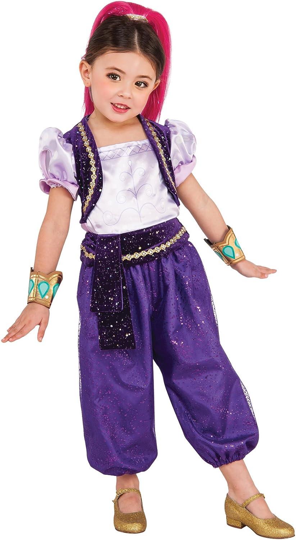 NEW Girls Shimmer /& Shine Fancy Dress Costume age 3-4 Years