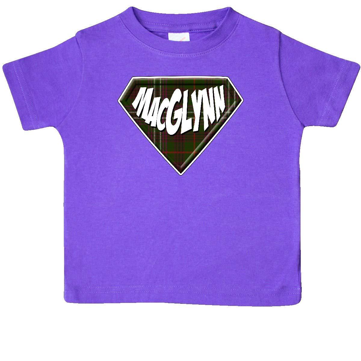 inktastic MacGlynn Tartan Superhero Baby T-Shirt