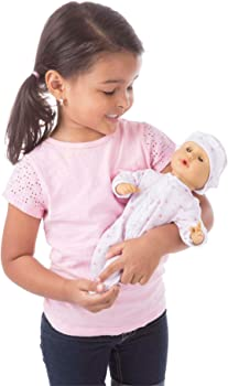 Melissa And Doug Open-Close Eyes Baby Doll