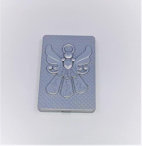 FavorOnline Angel Themed Silver Compact Mirror