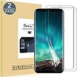 Pellicola Protettiva Samsung Galaxy S8,EasyULT 2 Pack da Bordo a Bordo Completo Schermo Bordo Curvo HD Cristallo Screen Protector film per Samsung S8(Non Vetro Temperato)