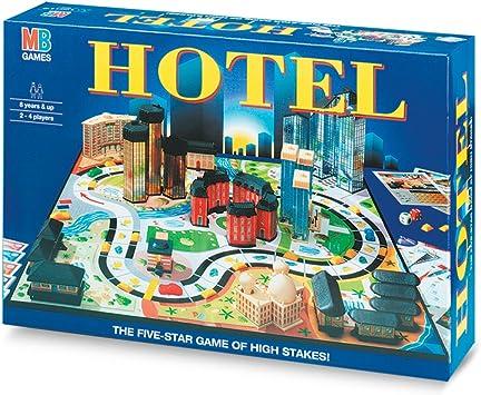Hasbro - Hotel, Juego de Mesa (versión en Italiano): Amazon.es: Juguetes y juegos