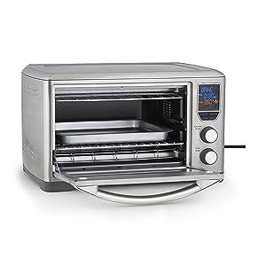 Kenmore Elite 76771 Digital Countertop Convection Oven in Gray